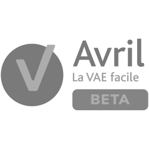 Logotype d'Avril, la VAE facile